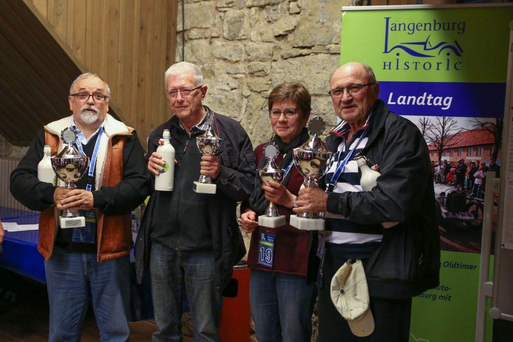 Roland Kamm, Marita Schönwälder, Wolfgang Schönwälder, Werner Neugebauer